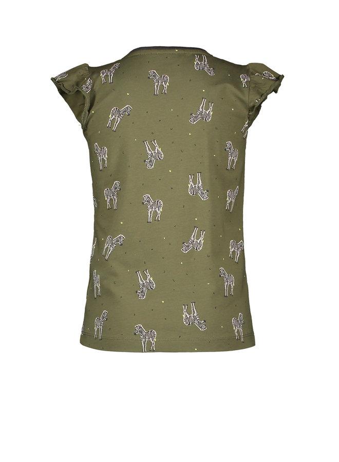 Shirt Zebra - Khaki