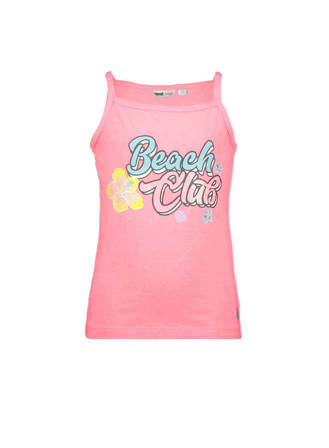 Tanktop Beach Club - Diva Pink