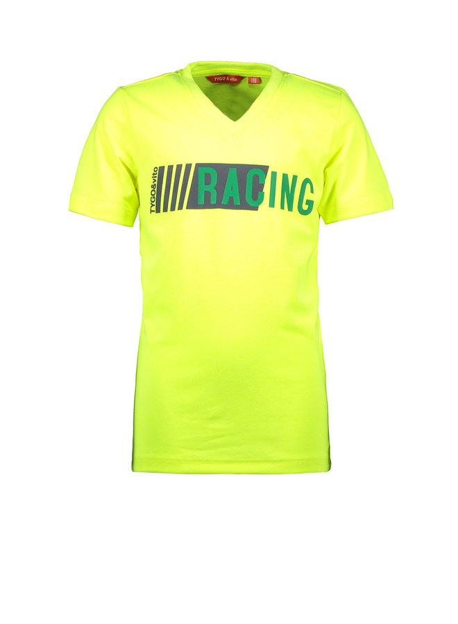Shirt Racing - Safety Yellow