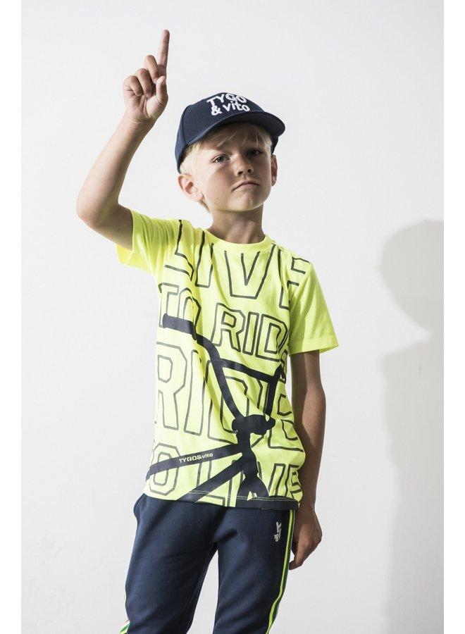 Shirt BMX - Safety Yellow