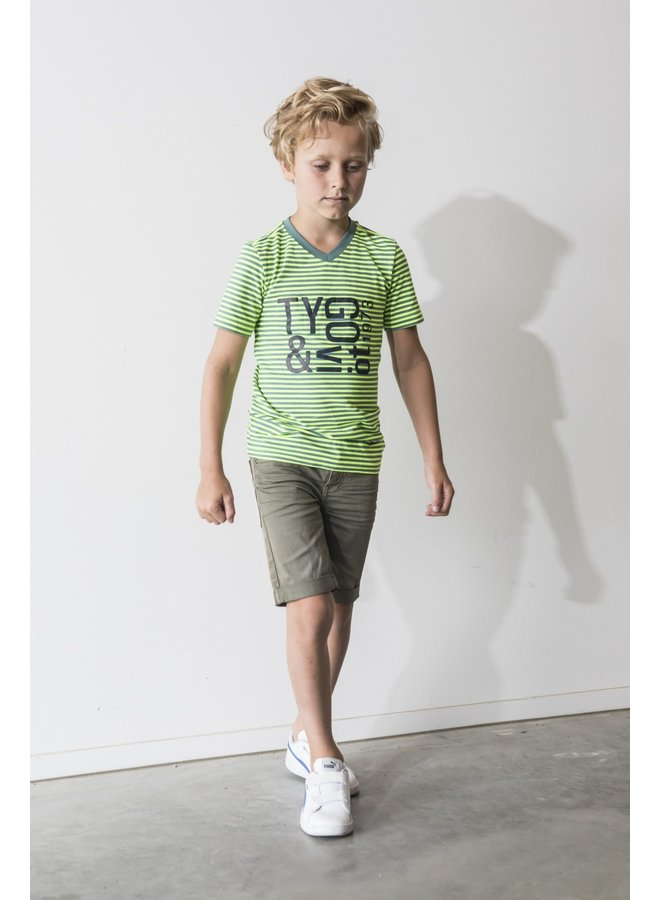 Shirt Stripe - Safety Yellow