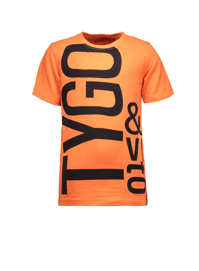Shirt Logo - Shocking Orange