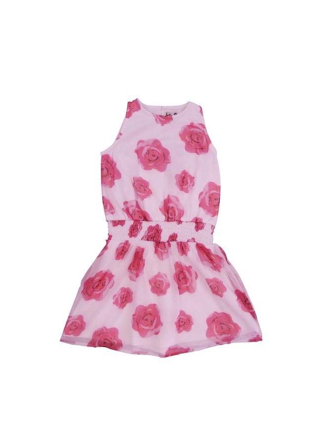 Dress Jerez - Pink Roses