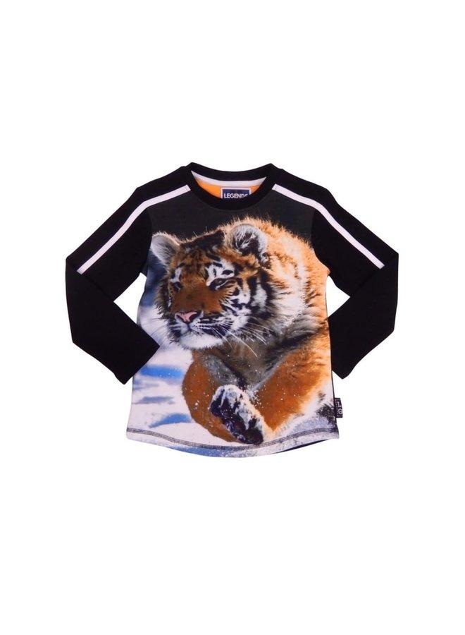 Shirt Tiger Black