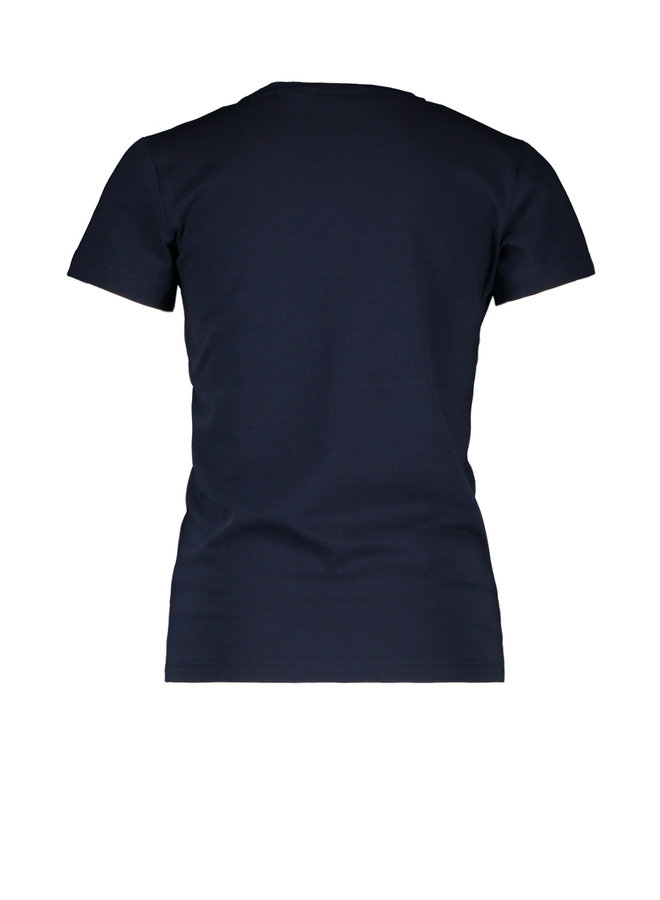 Shirt Knotted Stroke - Navy