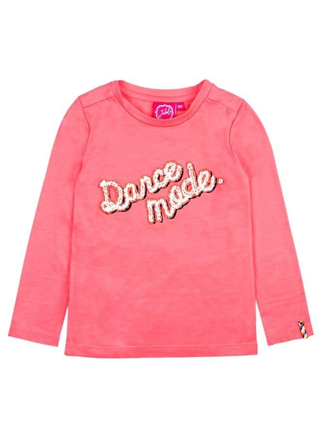 Longsleeve Dance Mode Koraal - Pret-A-Party