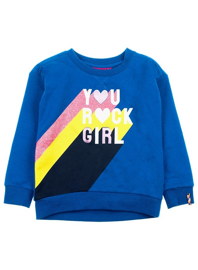 Sweater You Rock Kobalt - Pret-A-Party