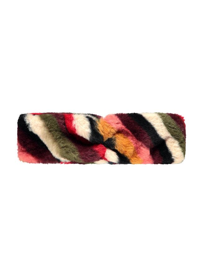 Fur Headband Stripe