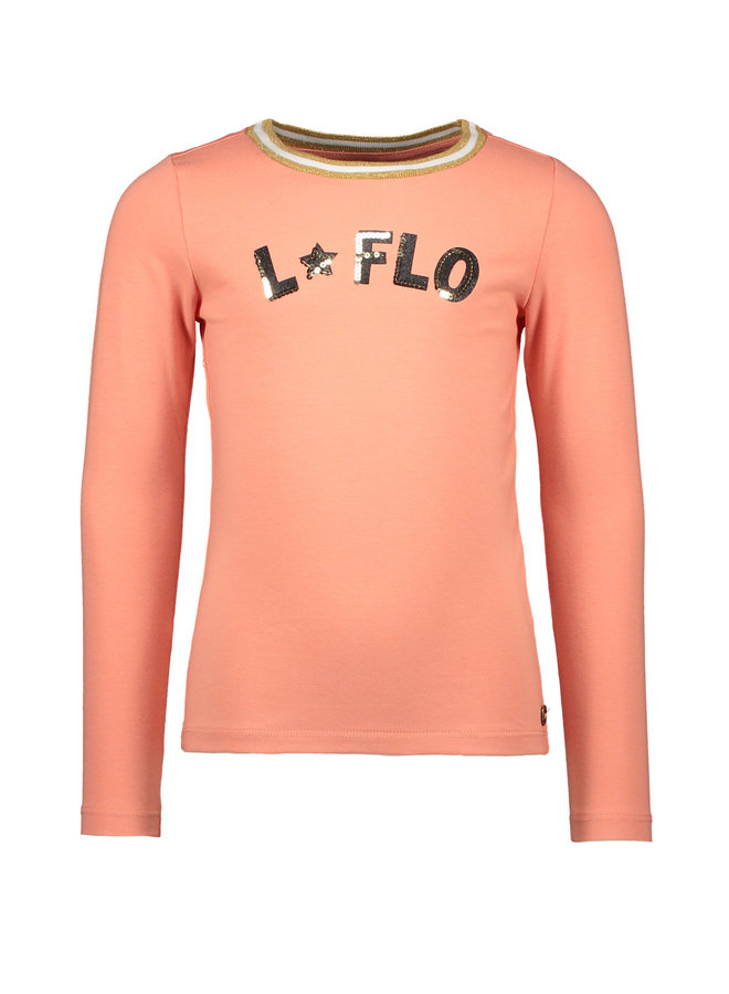Jersey Longsleeve Rib Neck - Old Pink