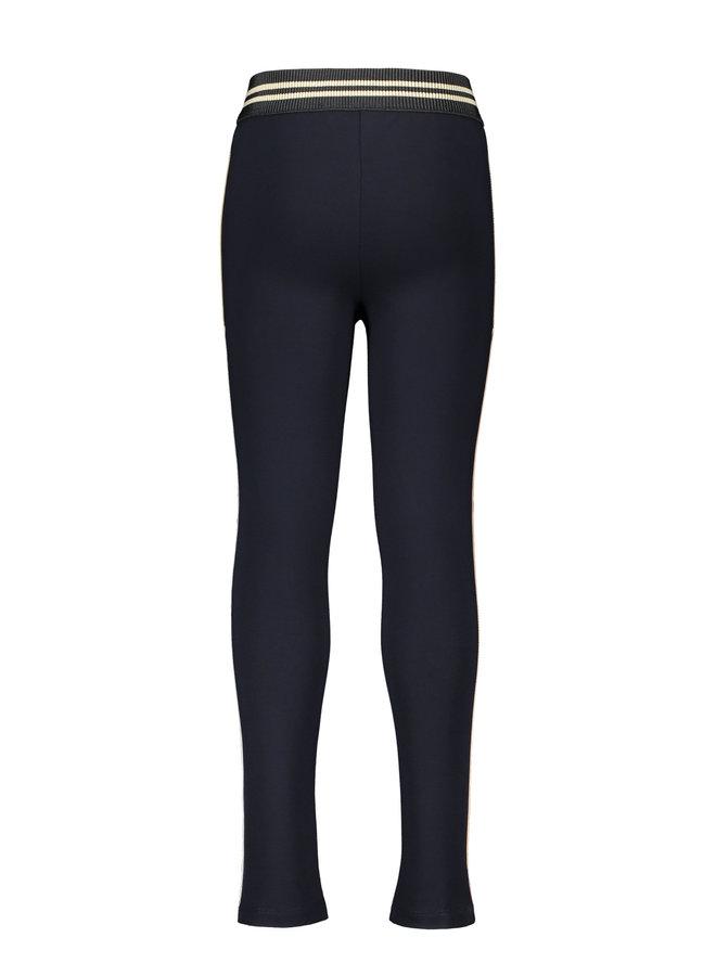 Interlock High Rise Skinny Pants - Metallic