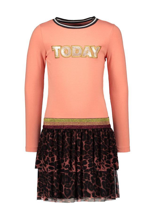Dress AO Mesh Skirt - Old Pink