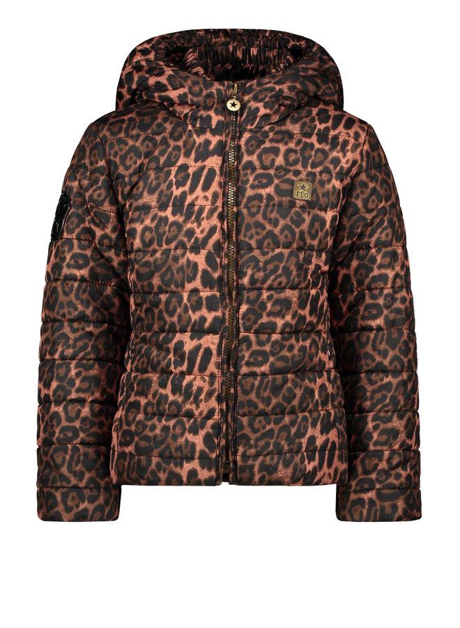 Short Hooded Jacket Animal