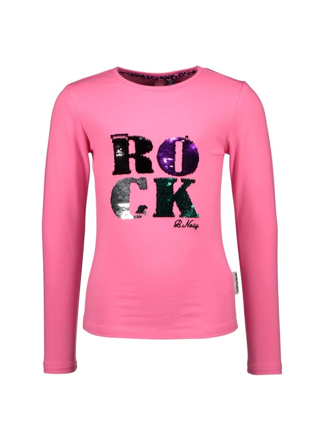 Shirt Chest Artwork Knock Out - Pink