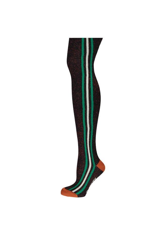 Thights Stripes At Sideseam - Black