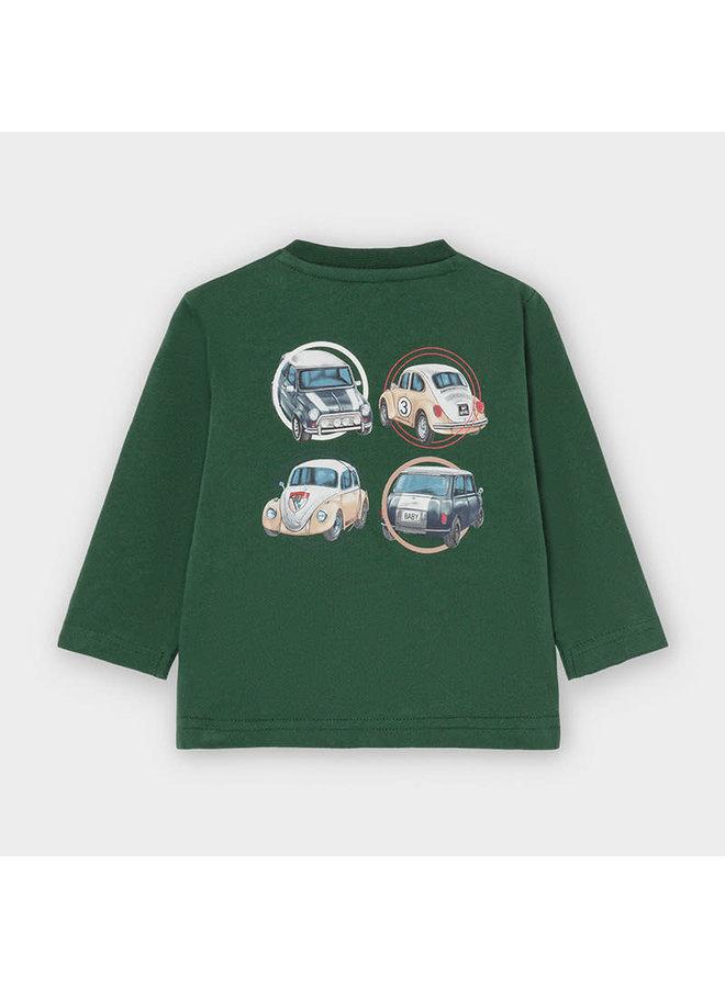 Shirt Auto's Groen