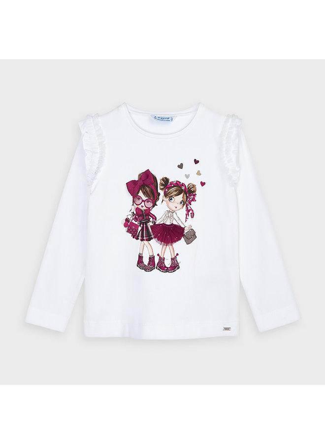 Shirt Meisjes Cherry