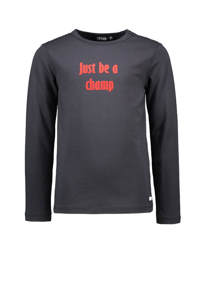 Longsleeve Just Be A Champ - Navy
