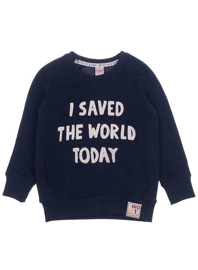 Sweater I Saved Marine - Dino-Mite