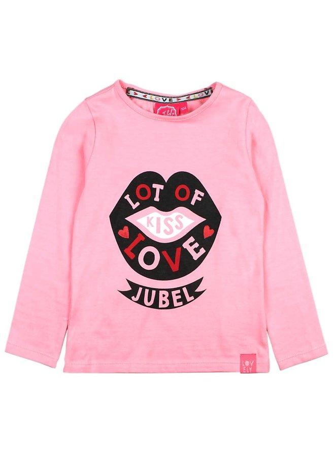 Longsleeve Love Roze - Bittersweet