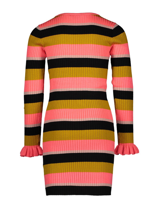 Knitted Dress - Diva Pink