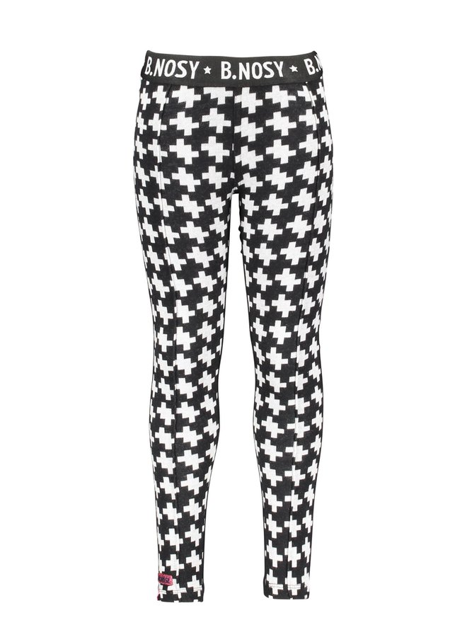 Jaquard Pants Solid Backside - Maxi Starwhite Puzzle