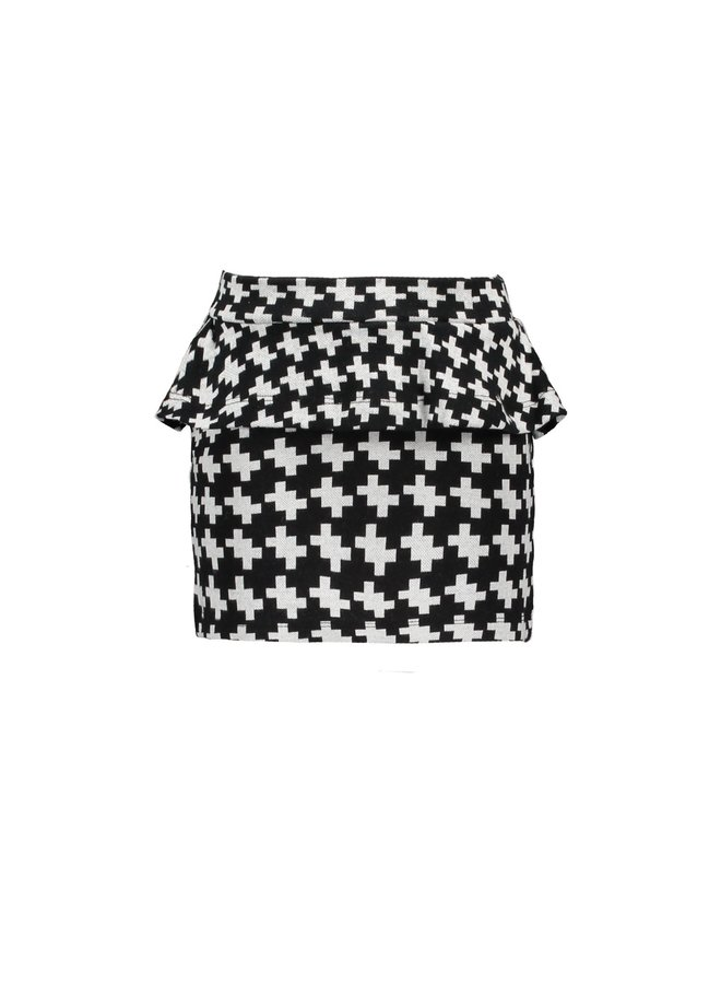 Jaquard Skirt - Maxi Starwhite Puzzle