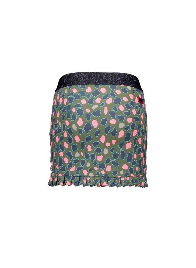 Sweat Skirt Ruffle Hem - Flaw Spots