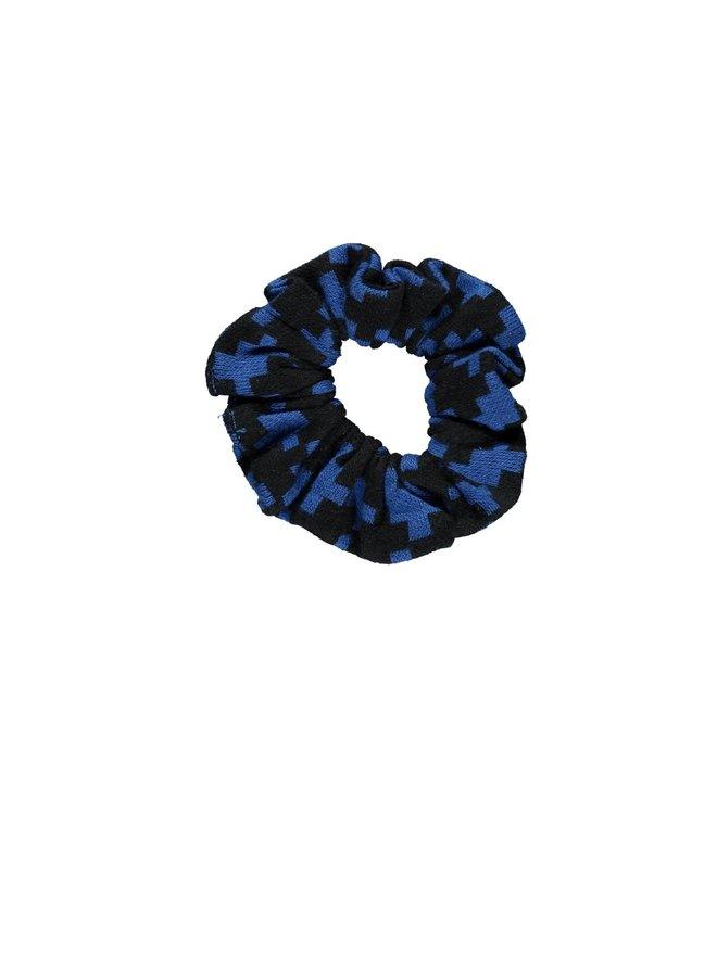 Scrunchie - Maxi Cobalt Puzzle