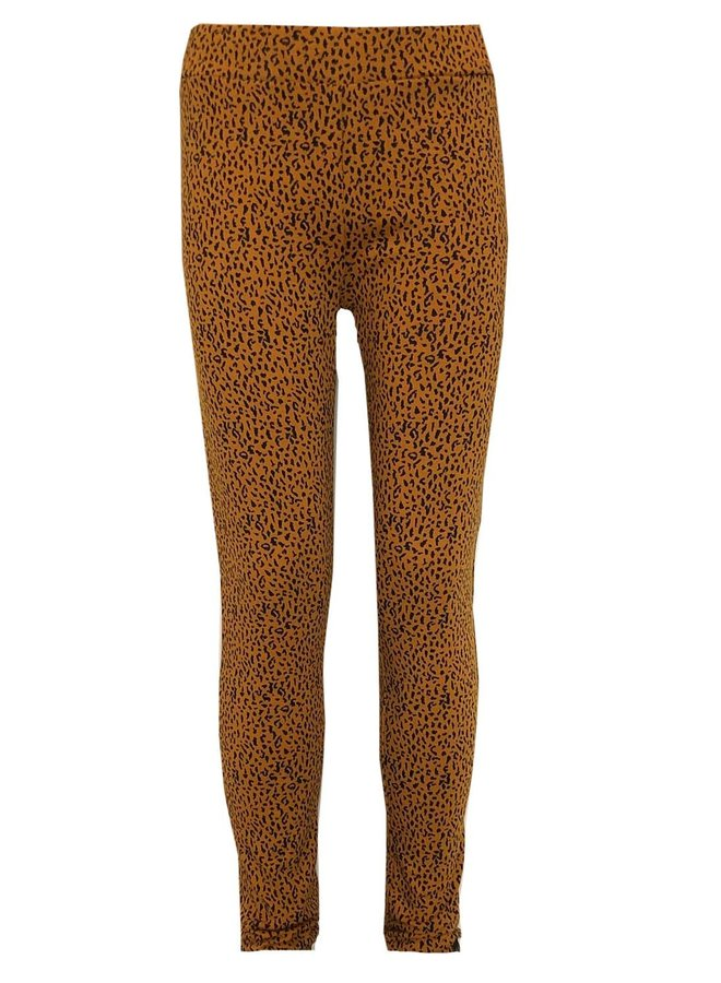 Asha Legging - AOP Leopard Brown