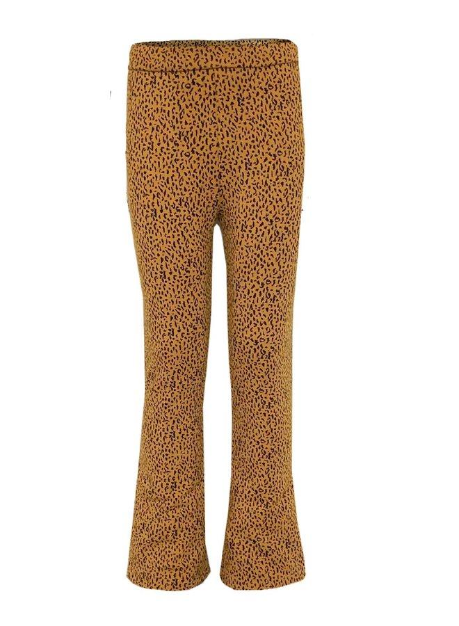 Annemoon Pant - AOP Leopard Brown