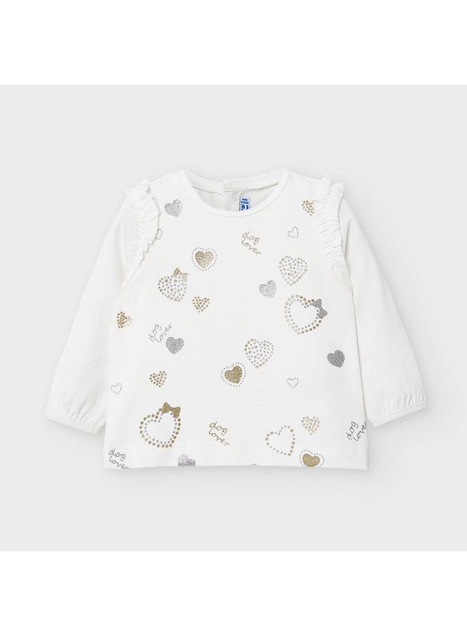 Shirt Hearts Chamagne