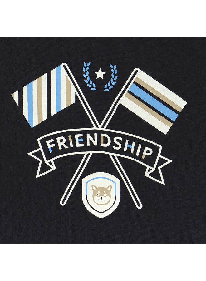 Shirt Friendship Blauw