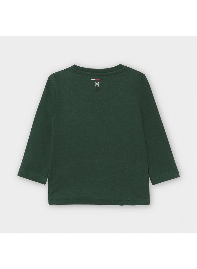 Shirt Streep Groen