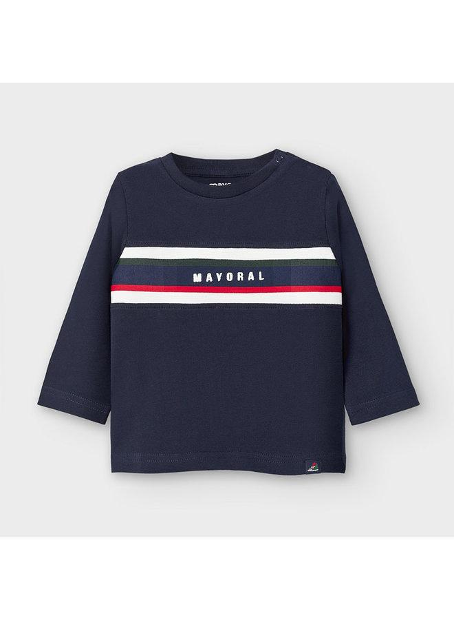 Shirt Streep Blauw