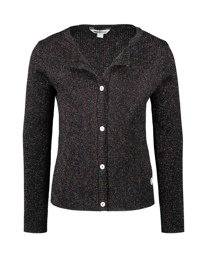 Knitted Vest - Black