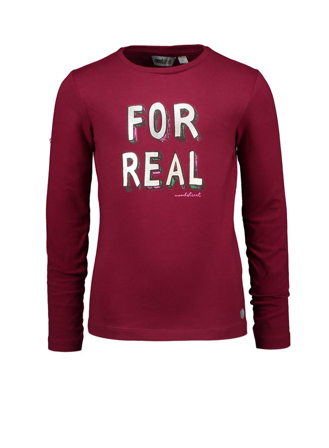 Longsleeve For Real - Rodo Red