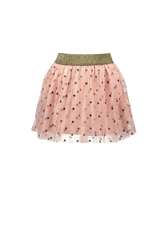 Tulle Skirt - Old Pink
