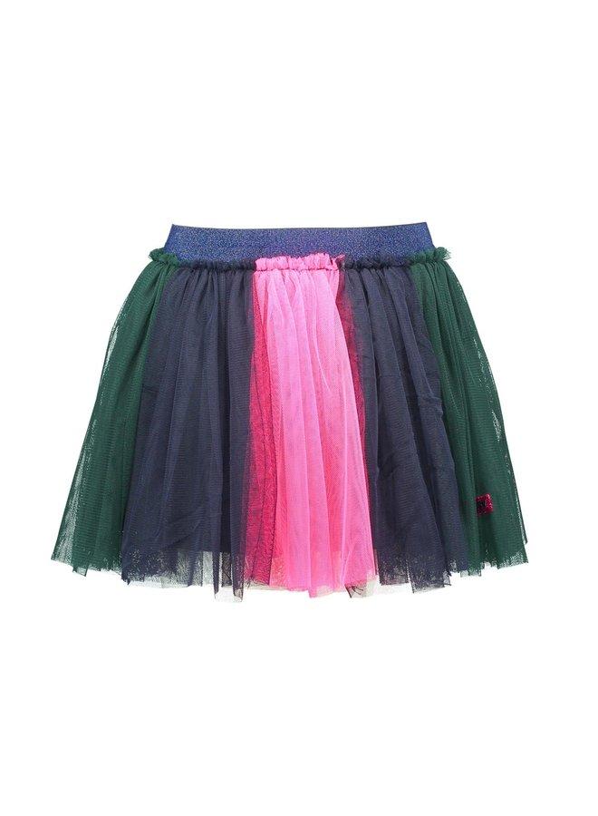 Skirt Colored Strokes - Botanical Green