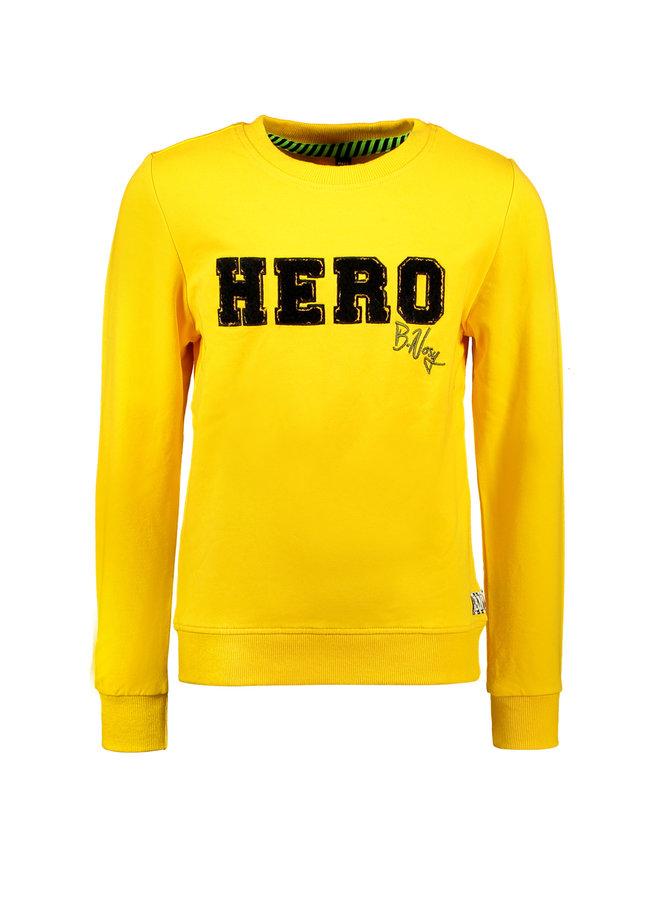 Sweater Chest Artwork - Lemon Chrome