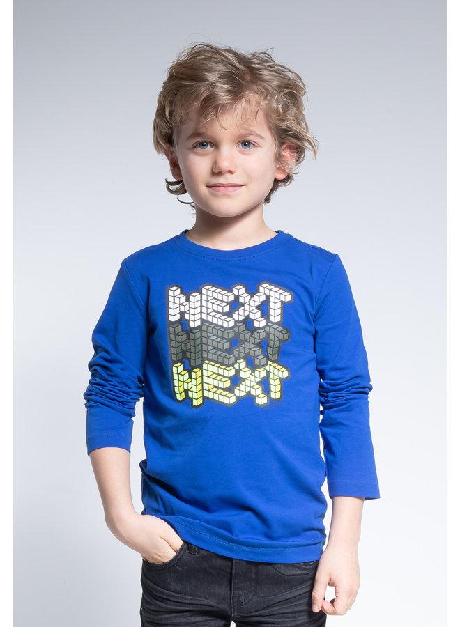Longsleeve Next - Cobalt