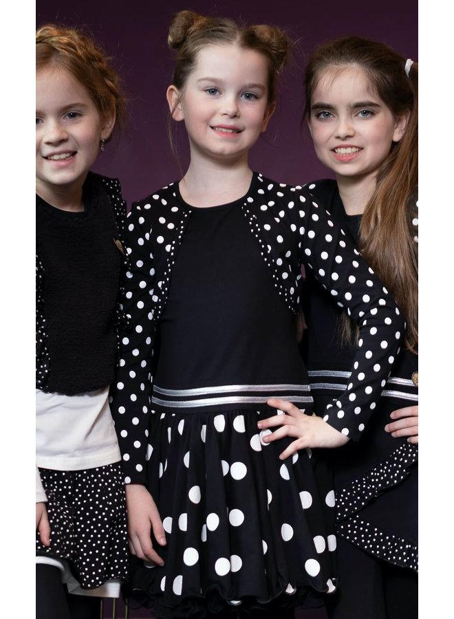 Dress Bolero - Black Dot