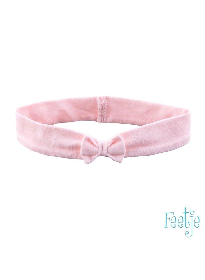Feetje-Haarband met Strik - Licht Roze