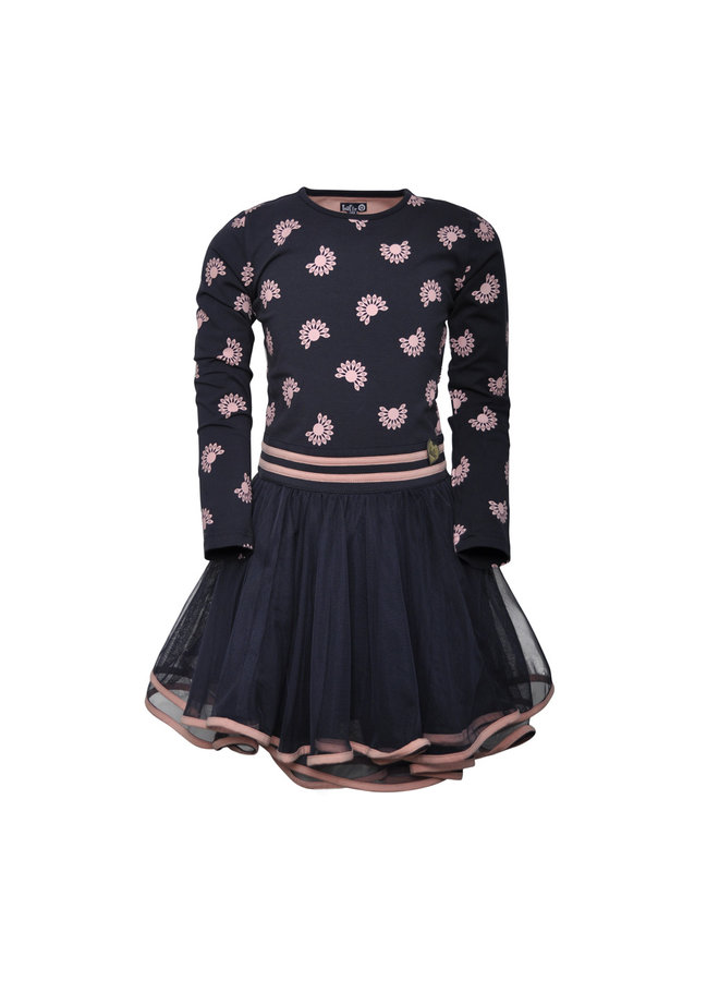 Dress Dance Greta - Blue/Pink