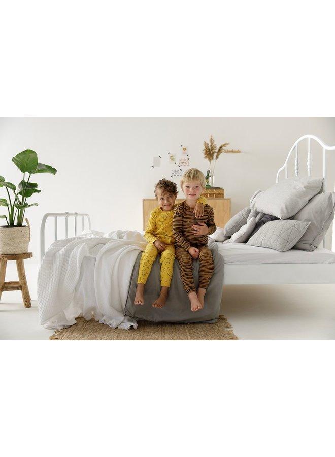Feetje-Pyjama Star Skylar Okergeel