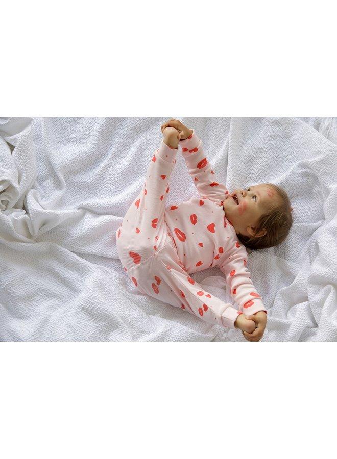 Feetje-Pyjama Love Lesley Roze