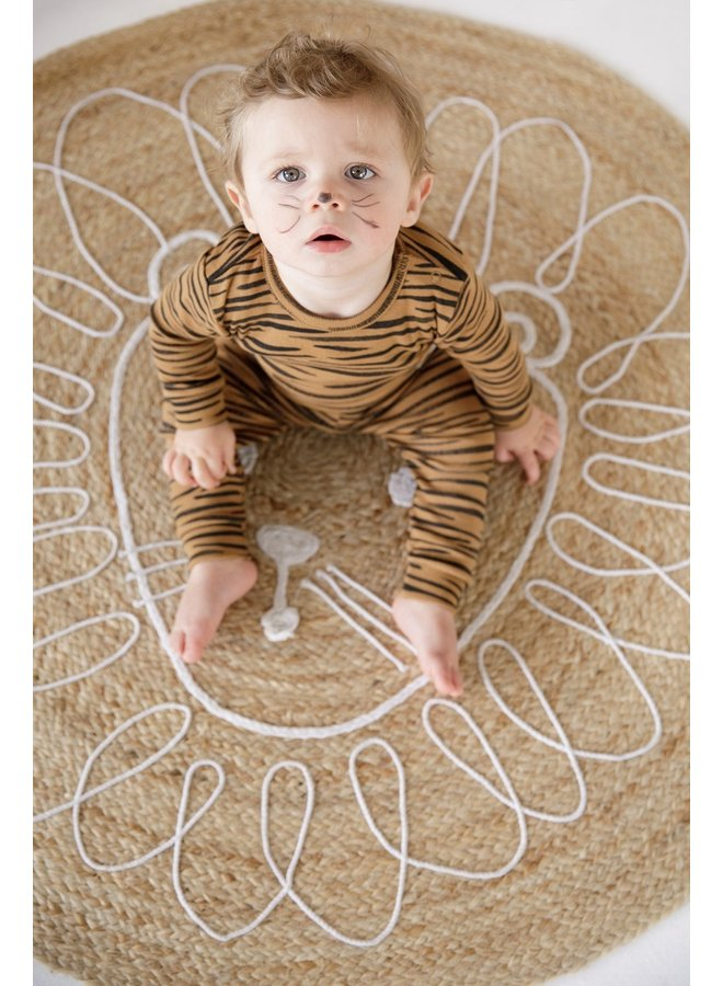 Feetje-Pyjama Tiger Taylor Camel