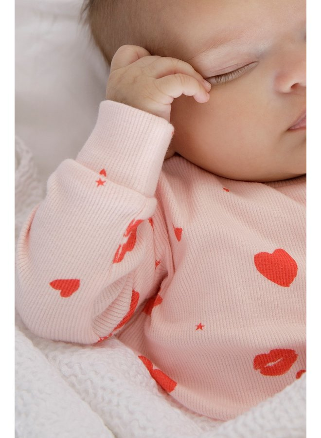 Feetje-Baby Pyjama Love Lesley Roze