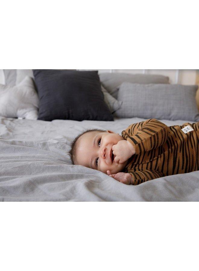 Feetje-Baby Pyjama Tiger Taylor Camel