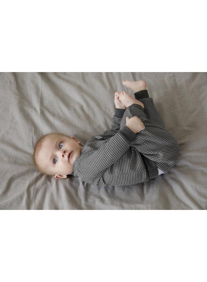 Baby Pyjama Wafel - Antraciet Autumn Special