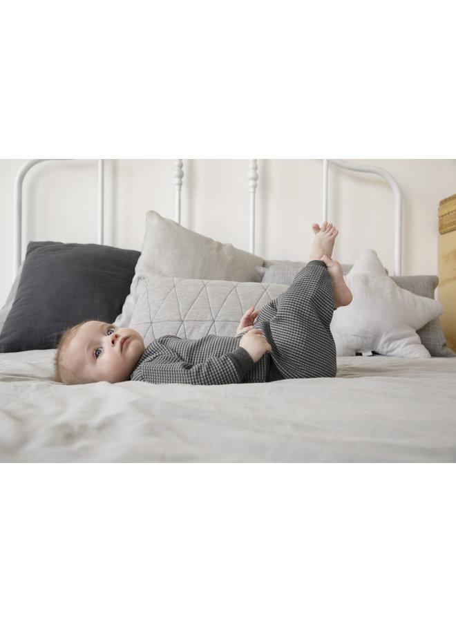 Pyjama Wafel - Antraciet Autumn Special